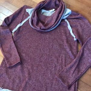 Pullover Comfort - Cowl Neck